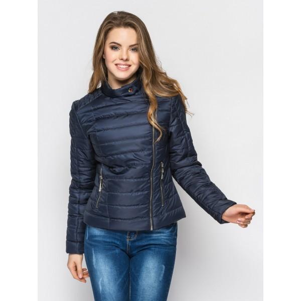 Женская куртка 00030-2 размеры 48-50 цвет синий