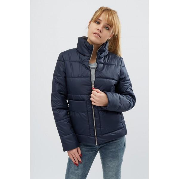 Женская куртка 00035-2 размеры 42-52 цвет синий