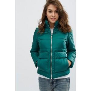 Женская куртка 00035-4 размеры 42, 44 цвет зеленый