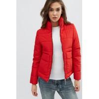 Женская куртка 00035-1 размеры 42-52 цвет красный