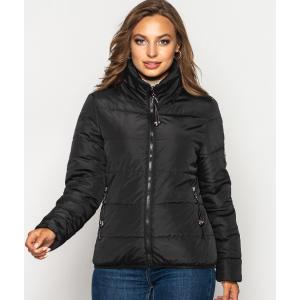Женская куртка 00036-2 размеры 42-52 цвет черный