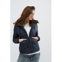 Женская куртка 00043-5 размеры 42-52 цвет темно синий
