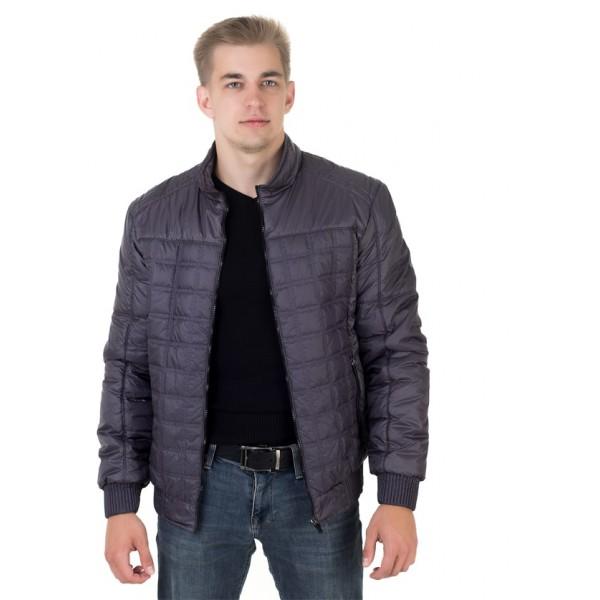Мужская куртка № 00051-3 размеры 48-56 цвет темно серый