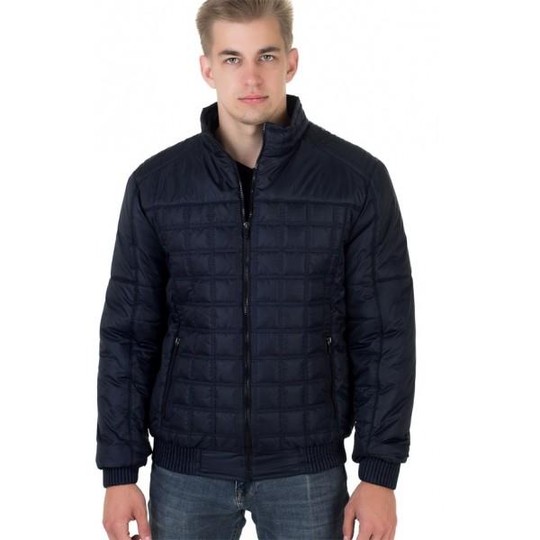 Мужская куртка № 00051-1 размеры 48-58 цвет темно синий