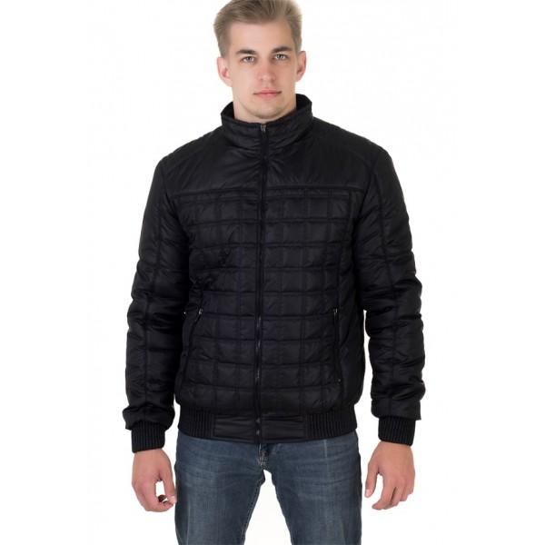 Мужская куртка № 00051-2 размеры 48-56 цвет черный