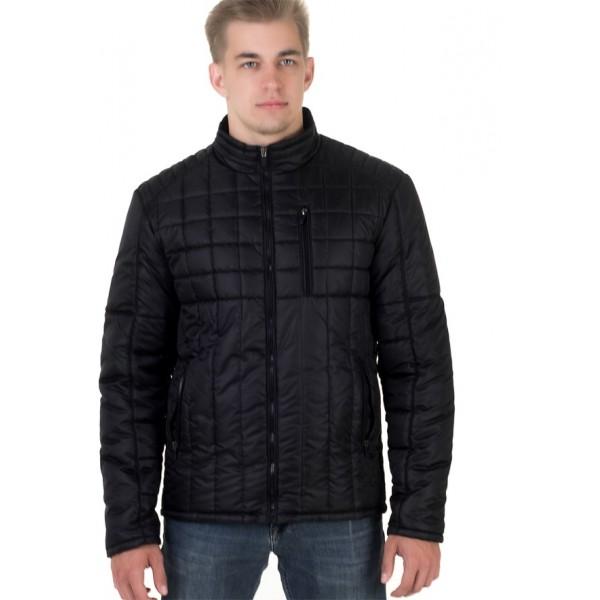 Мужская куртка № 00053-2 размеры 48-58 цвет черный