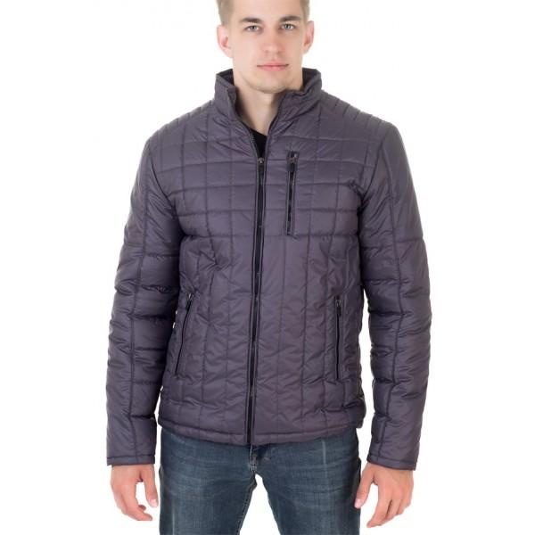 Мужская куртка № 00053-3 размеры 48-58 цвет темно серый