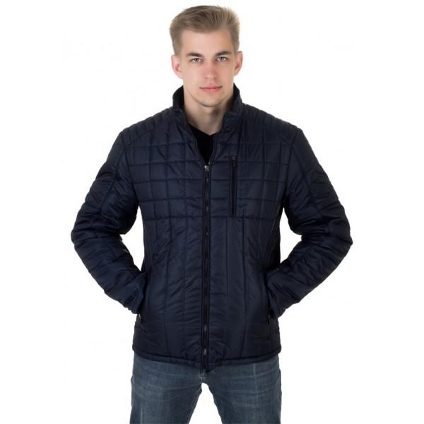 Мужская куртка № 00053-1 размеры 48-58 цвет темно синий