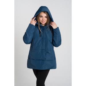 Женская куртка 00057-4 размеры 50-64 цвет морская волна