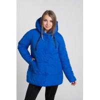 Женская куртка 00057-3 размеры 50-64 цвет электрик
