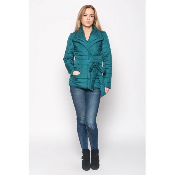 Женская куртка S16-2 размеры 42 цвет зеленый
