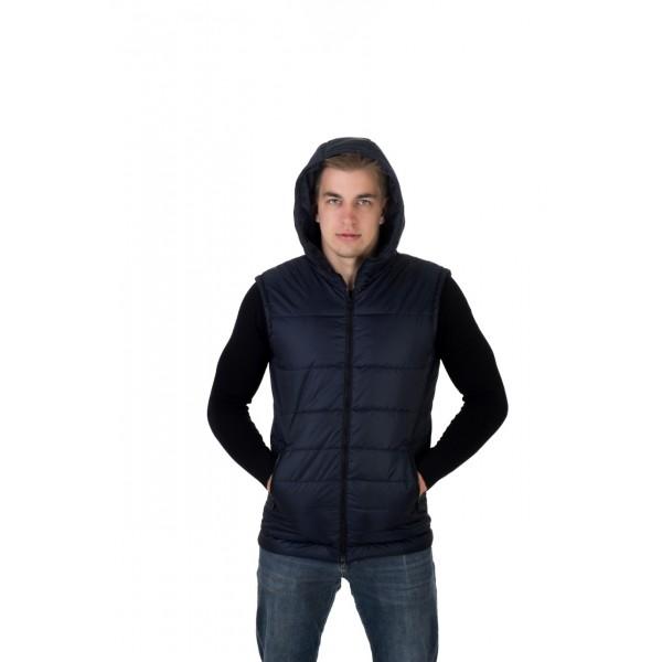 Мужской жилет  № 00011-1 размеры 48-58 цвет темно синий