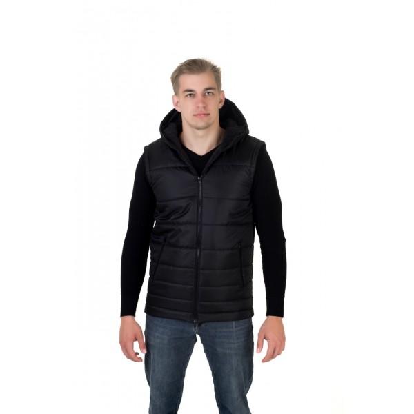 Мужской жилет 0011-3 размеры 48-58 цвет черный